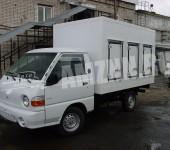 Фургон для перевозки замороженных продуктов или мороженовозка