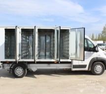 Изготовление и продажа машин для перевозки хлебобулочных изделий
