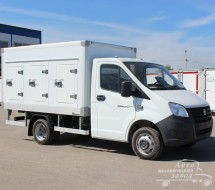 Фургоны для перевозки мороженного на заказ