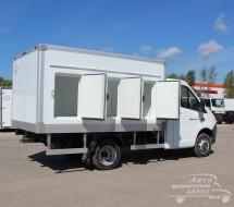 Фургон для перевозки замороженных продуктов в Москве