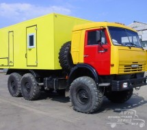 Производство фургона автомастерской на колесах