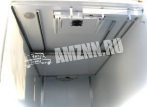 Изотермический фургон изнутри