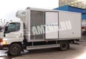 Изотермический фургон с боковой дверью