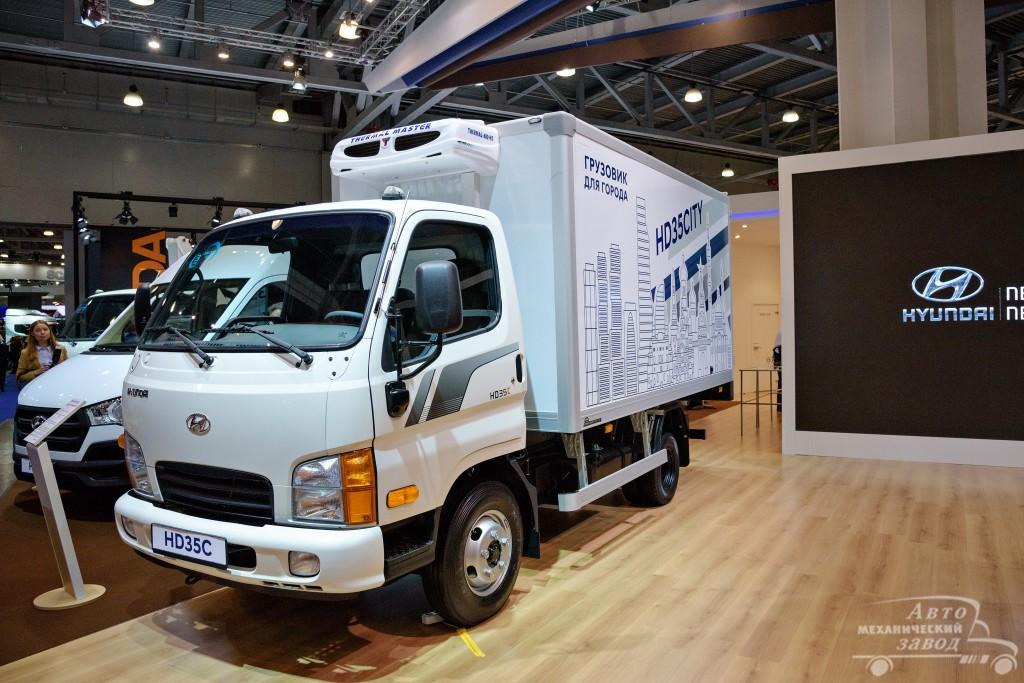 Изометрический фургон на шасси Hyundai