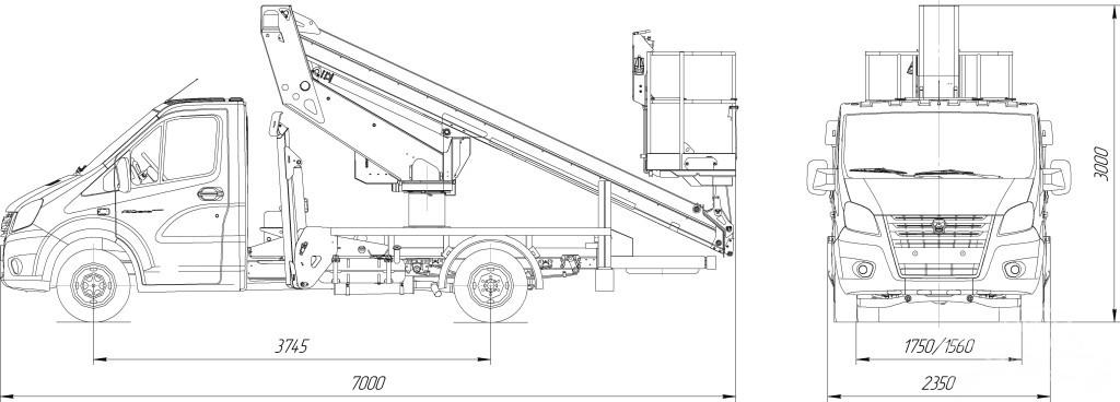 ТП P140T - ГАЗель Next