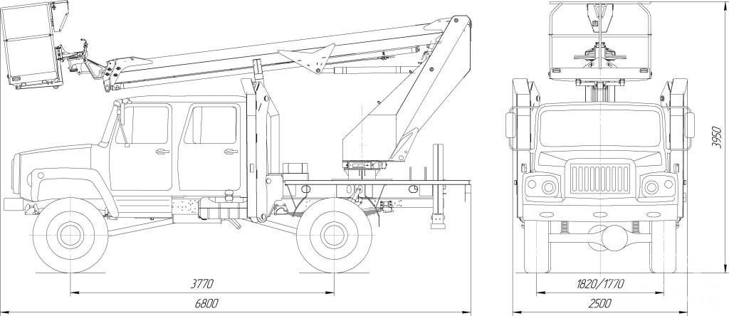ТП P180T ГАЗ-33088 (ДК)
